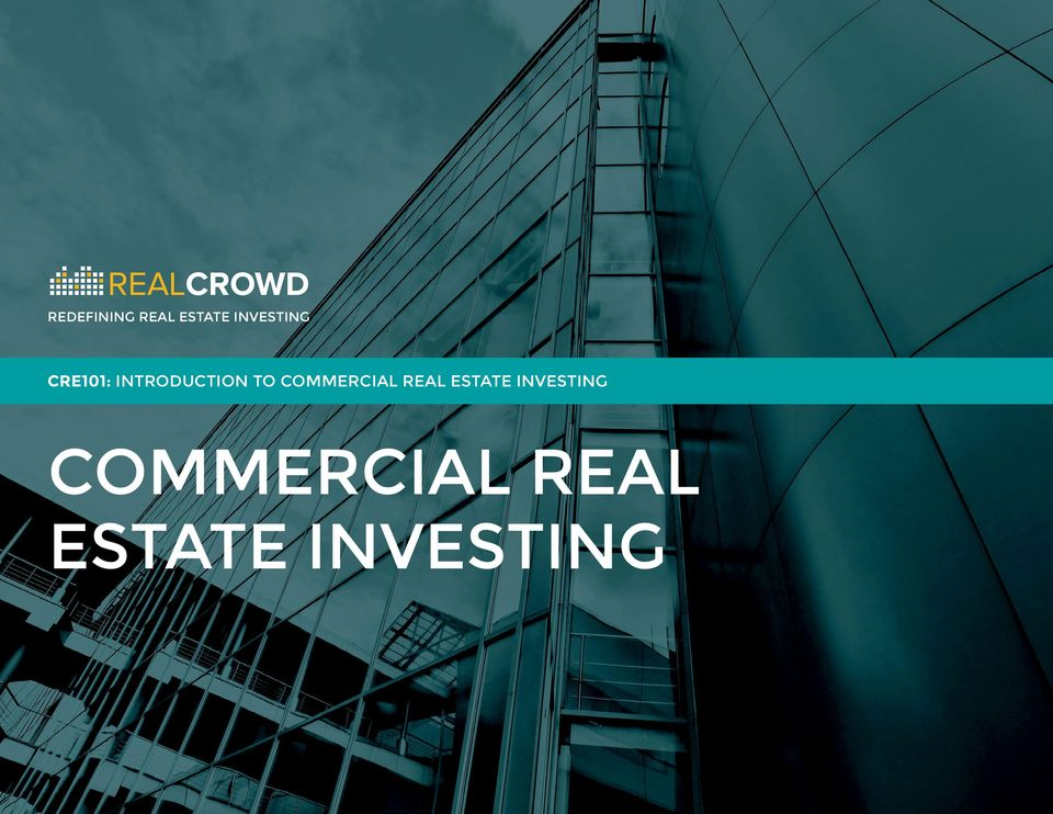 TO COMMERCIAL REAL ESTATE