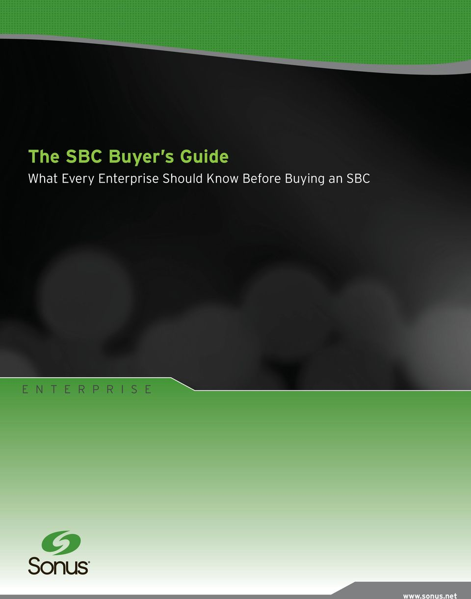 Know Before Buying an SBC E