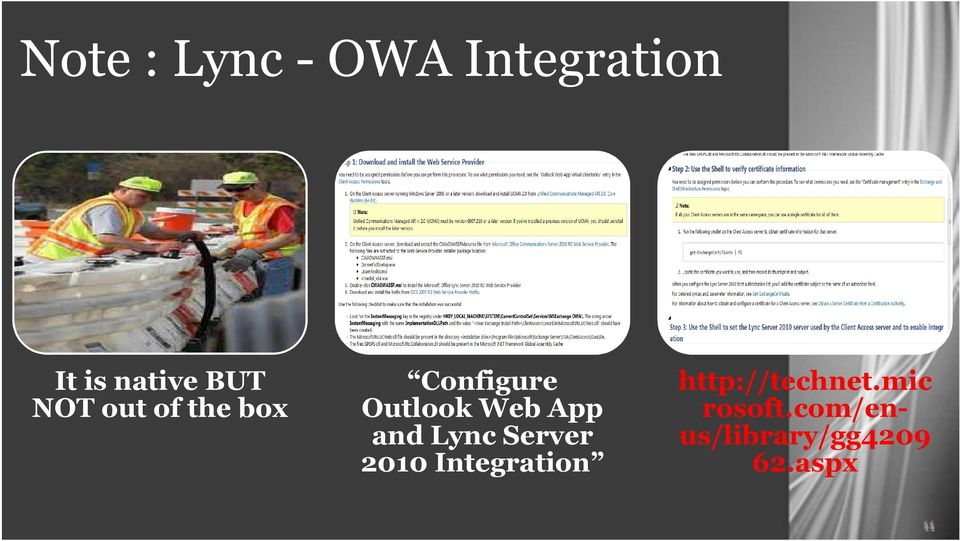 and Lync Server 2010 Integration