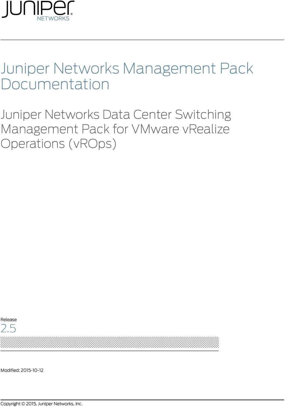 Switching Management Pack for VMware