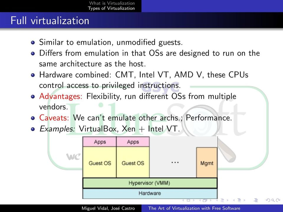 Hardware combined: CMT, Intel VT, AMD V, these CPUs control access to privileged instructions.