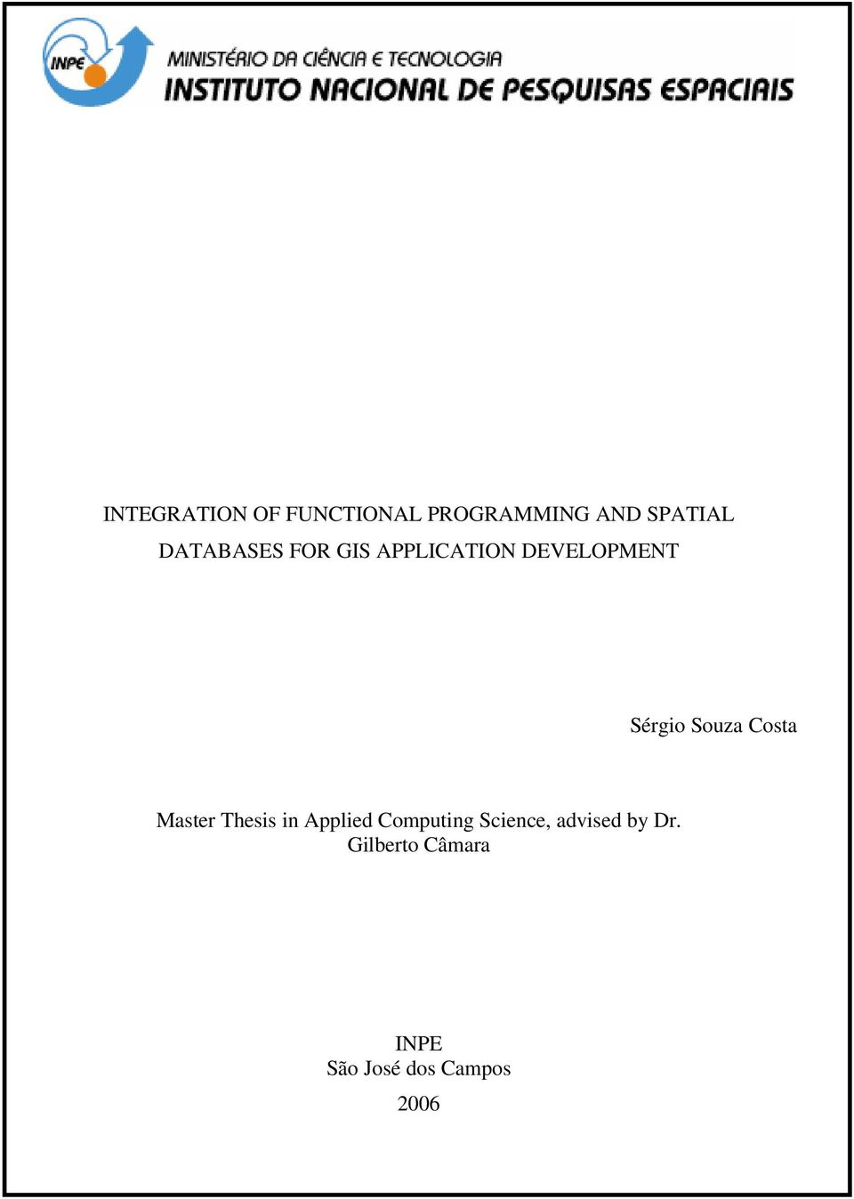 Souza Costa Master Thesis in Applied Computing