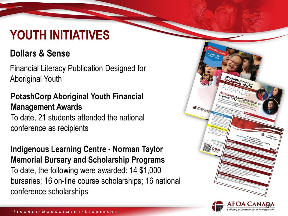 recipients Indigenous Learning Centre - Norman Taylor Memorial Bursary and Scholarship Programs To date,