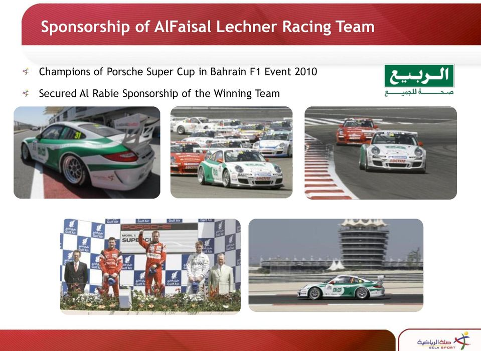 Super Cup in Bahrain F1 Event 2010