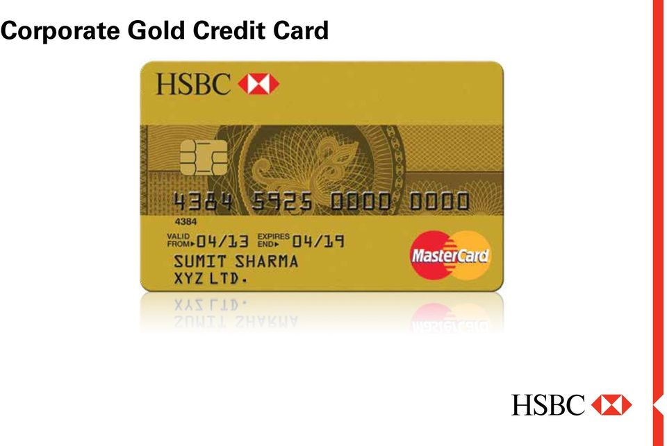 Corporate gold credit card pdf for Corporate business credit cards