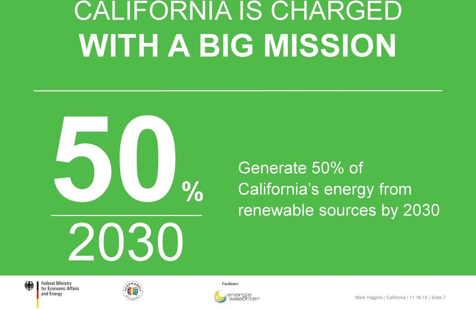 of California s energy from sources by