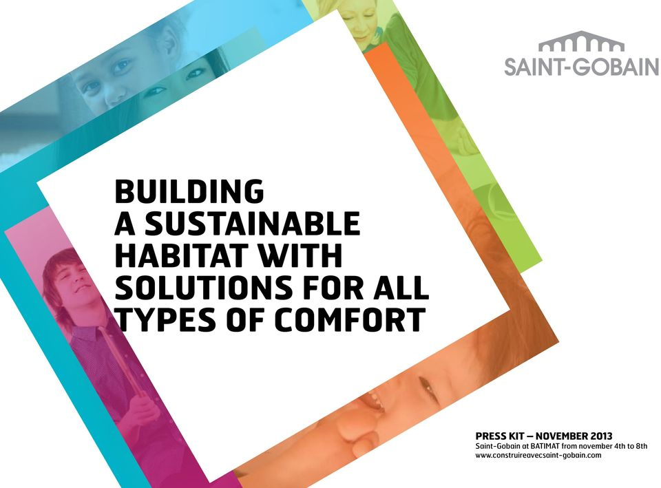 NOVEMBER 2013 Saint-Gobain at BATIMAT from