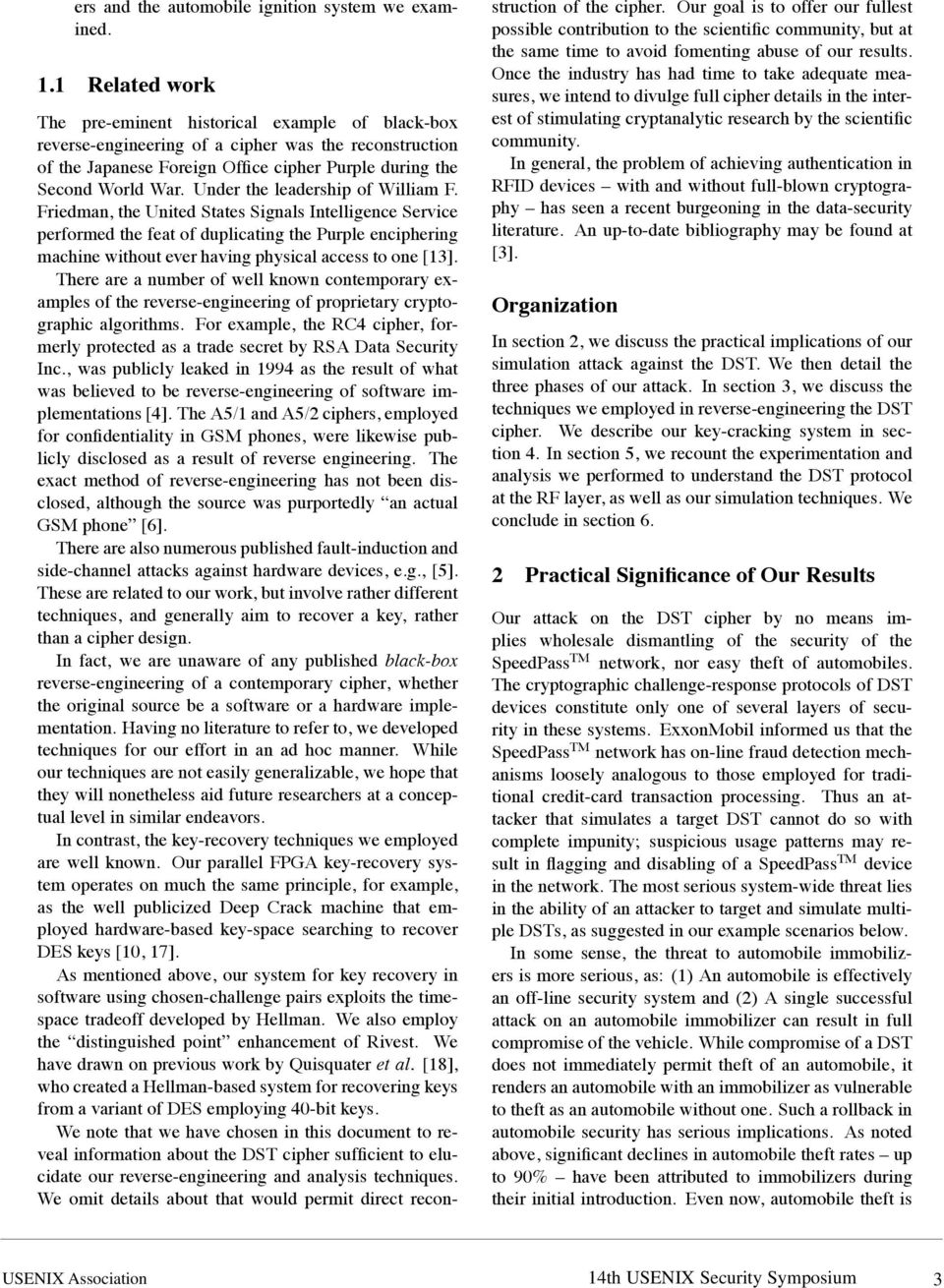Under the leadership of William F.
