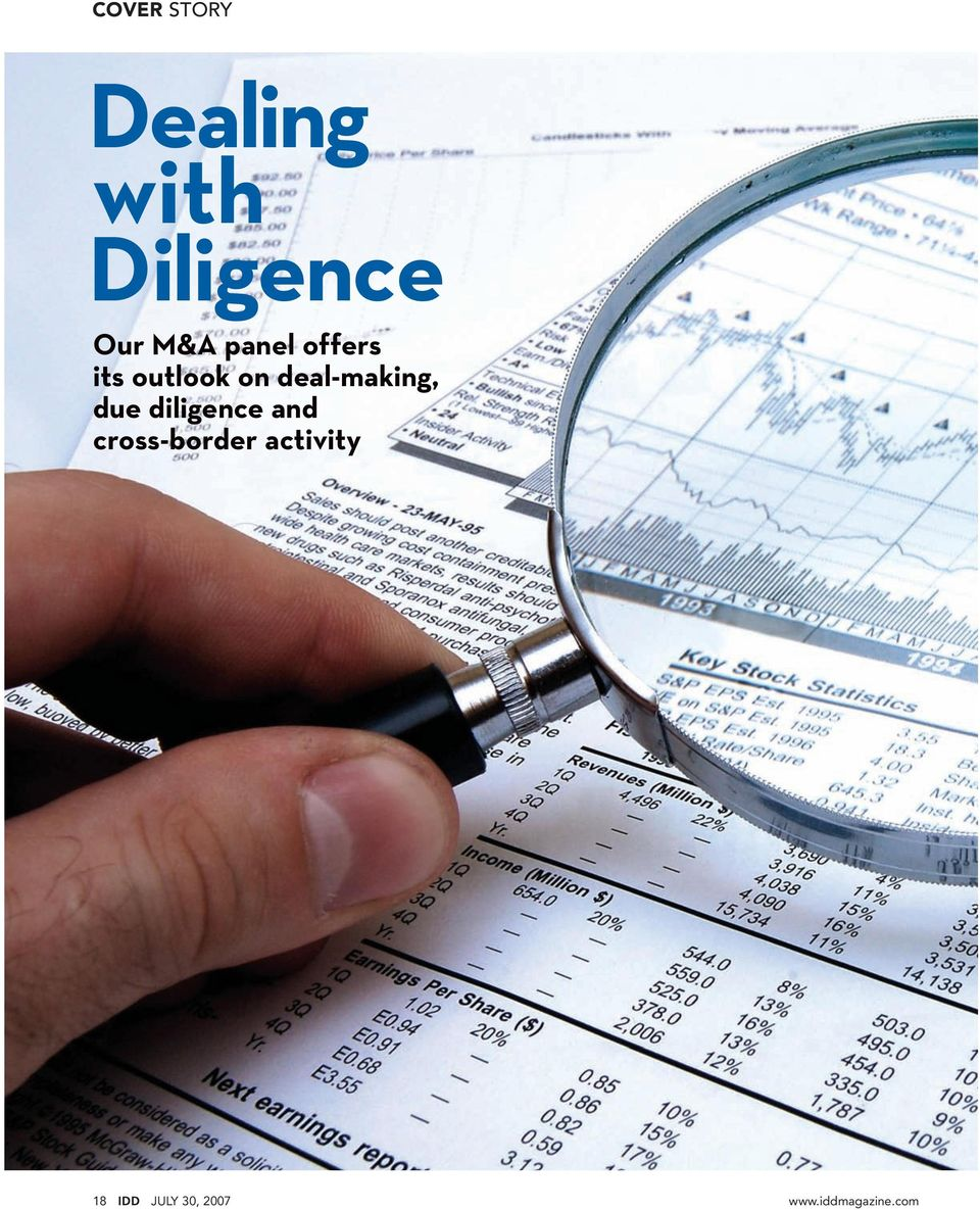 deal-making, due diligence and