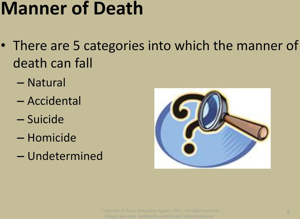 of death can fall Natural