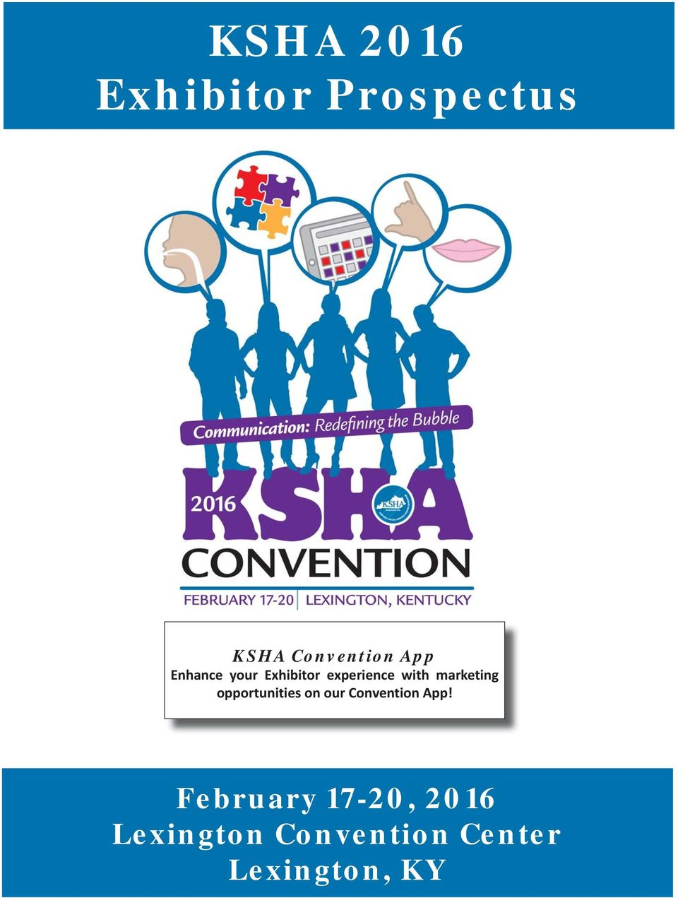 marketing opportunities on our Convention App!