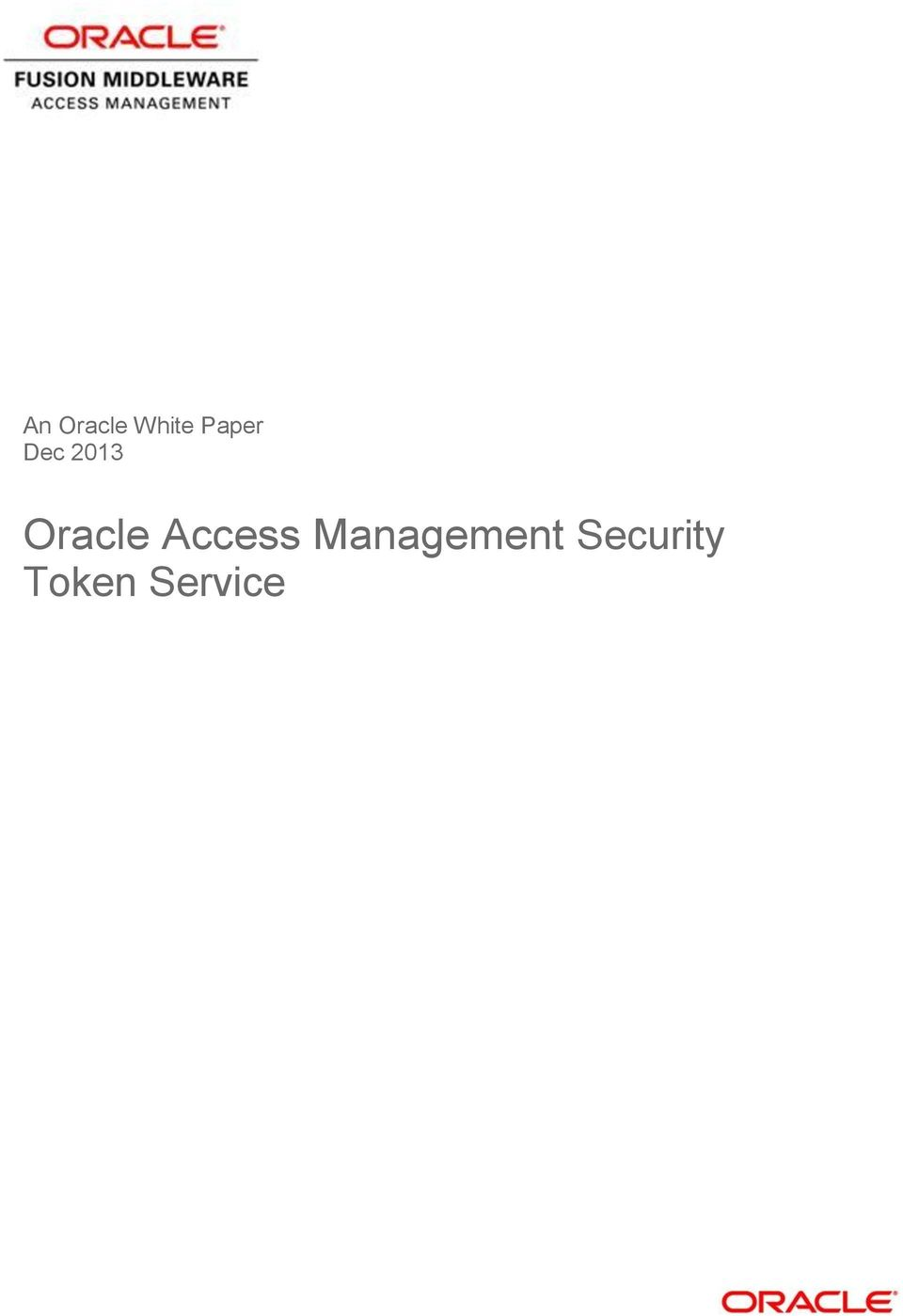 Oracle Access