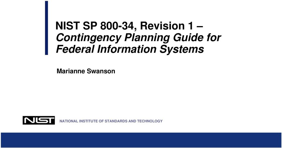 Federal Information Systems Marianne