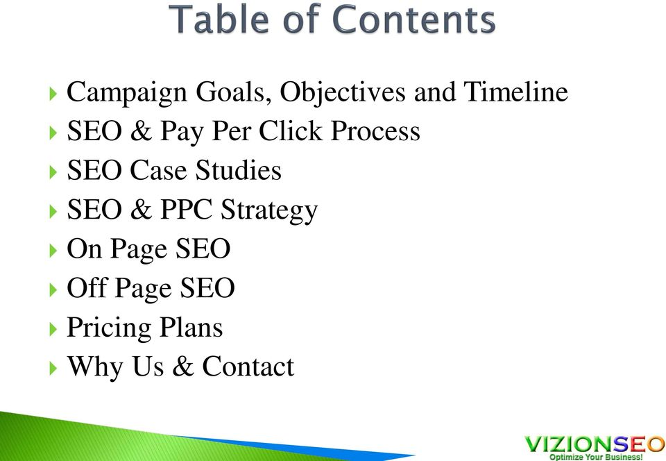 Studies SEO & PPC Strategy On Page SEO