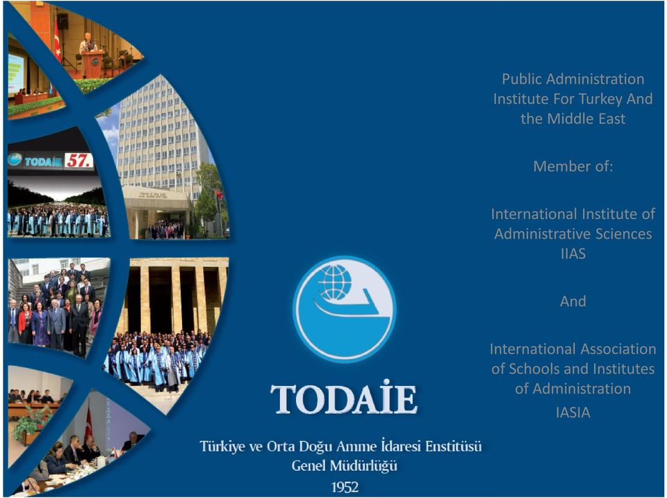 Administrative Sciences IIAS And International