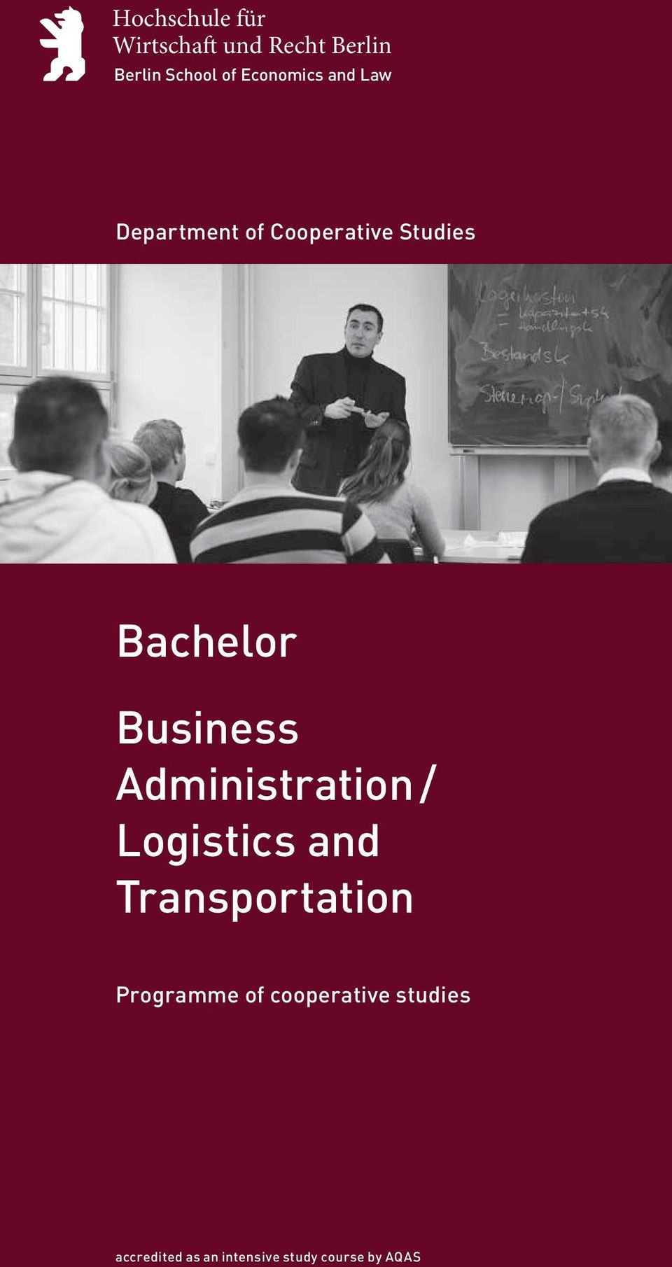Business Administration / Logistics and Transportation