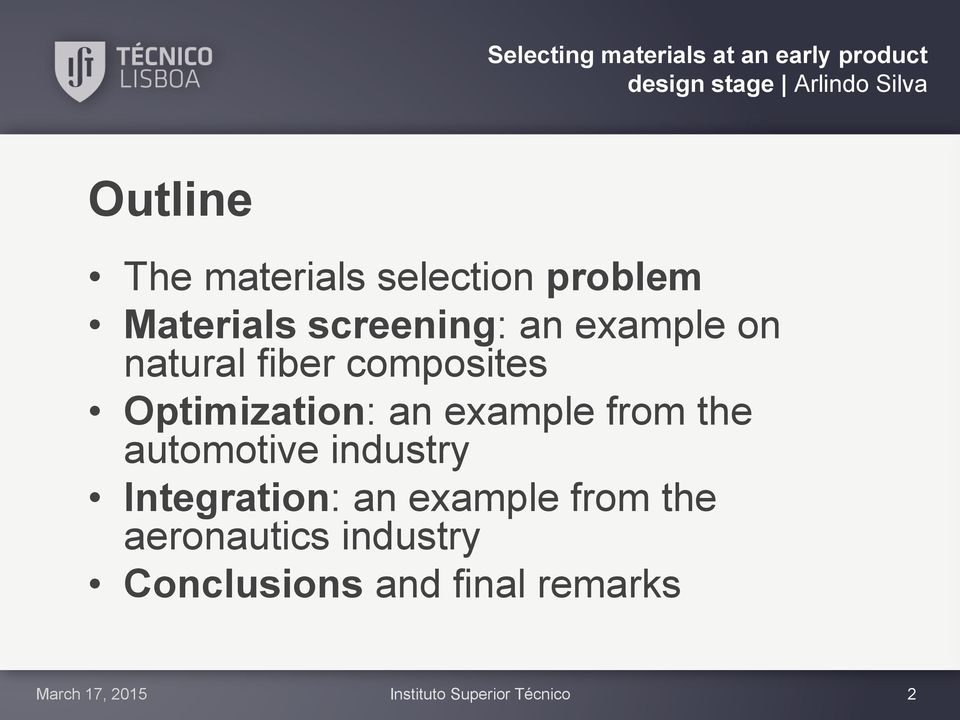 automotive industry Integration: an example from the aeronautics