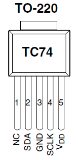 A buffer was required for additional protection against short-circuiting or overloading on the RasPi. For this purpose a buffer microchip TC4428A 5 was used as shown on the schematic above.