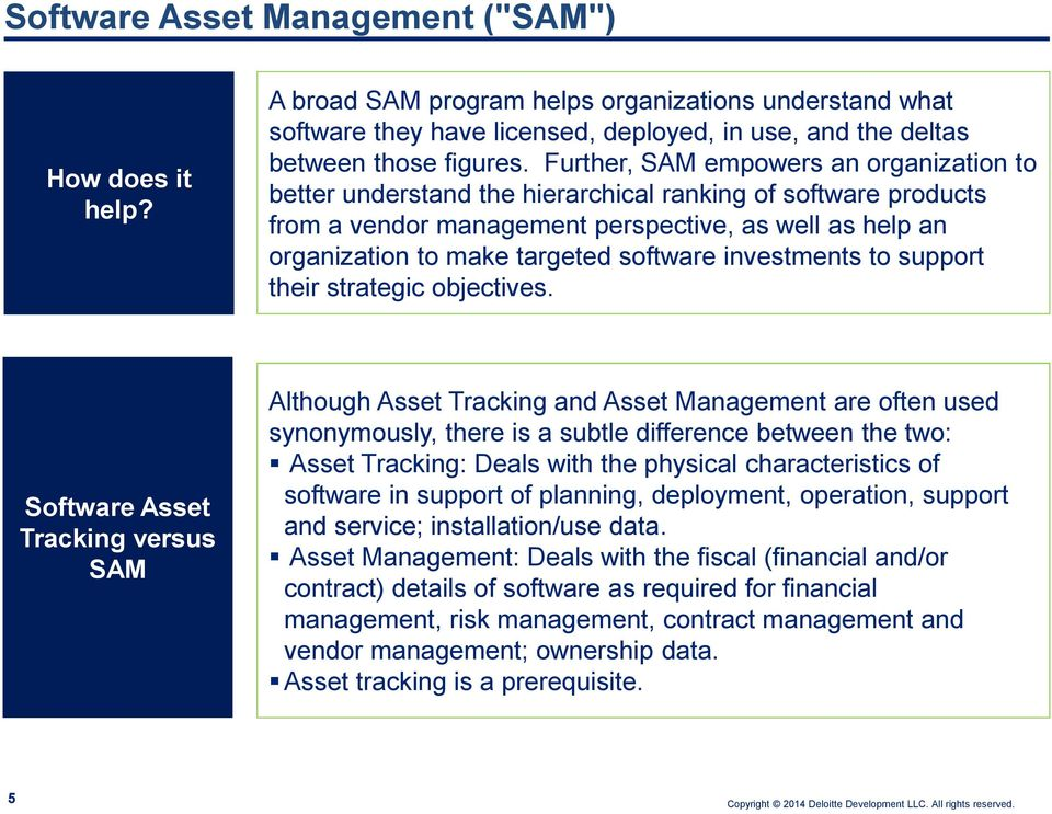 software investments to support their strategic objectives.