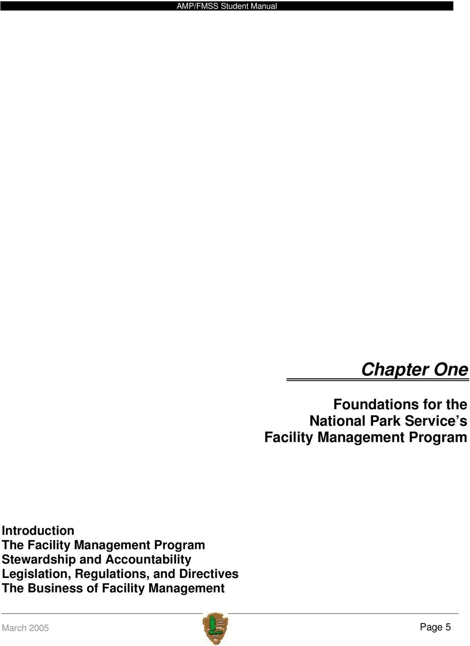Management Program Stewardship and Accountability Legislation,