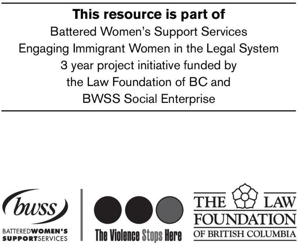 the Legal System 3 year project initiative