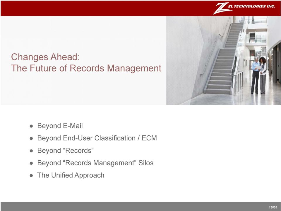 Classification / ECM Beyond Records