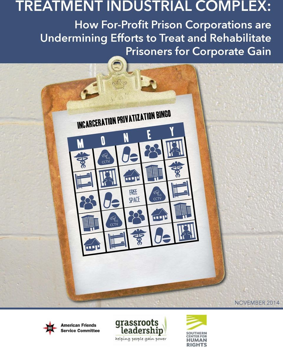Rehabilitate Prisoners for Corporate Gain