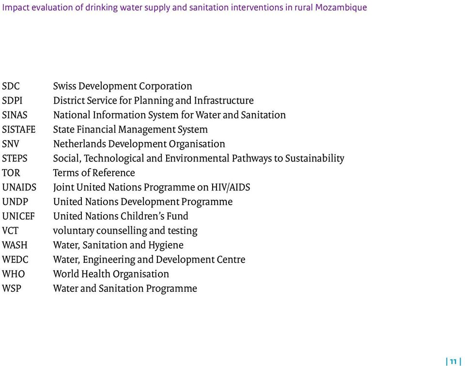 Organisation Social, Technological and Environmental Pathways to Sustainability Terms of Reference Joint United Nations Programme on HIV/AIDS United Nations Development Programme
