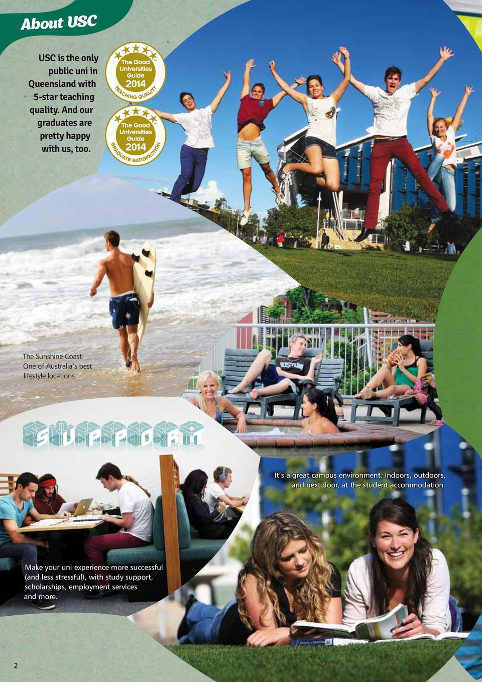 One of Australia s best lifestyle locations. It s a great campus environment.