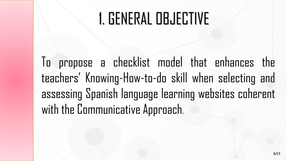 when selecting and assessing Spanish language