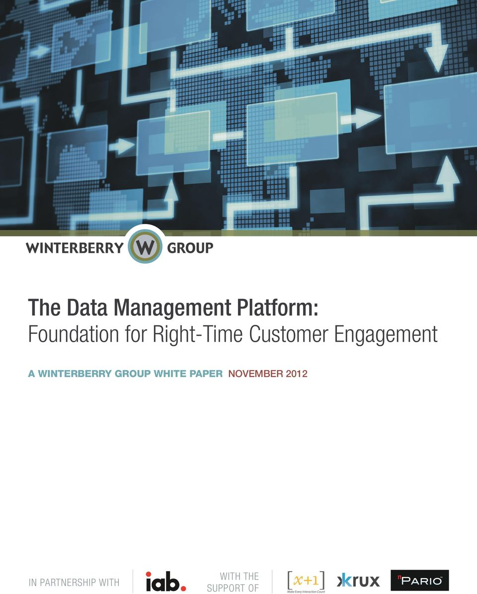 WINTERBERRY GROUP WHITE PAPER NOVEMBER