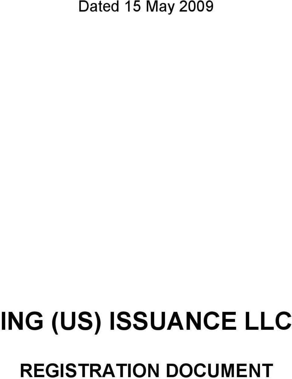 ISSUANCE LLC