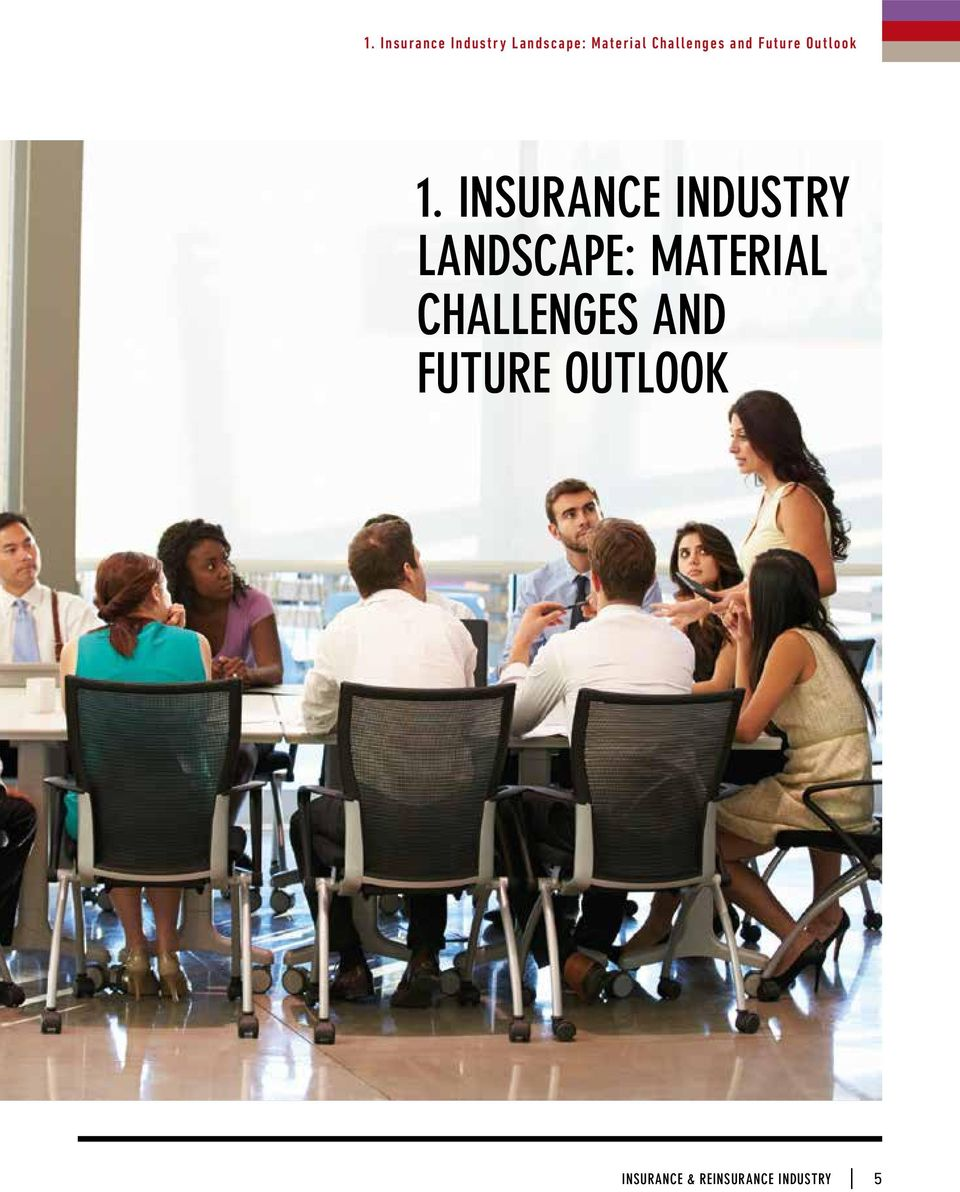 INSURANCE INDUSTRY LANDSCAPE: MATERIAL
