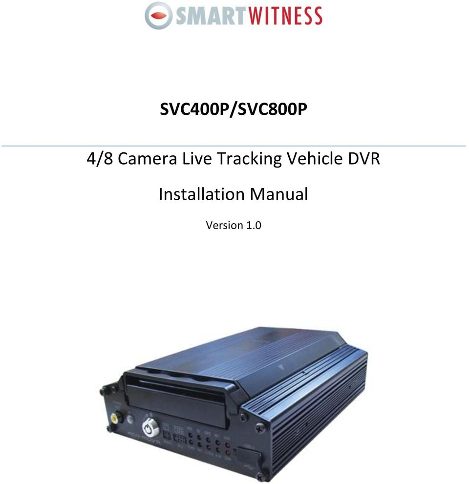 Vehicle DVR