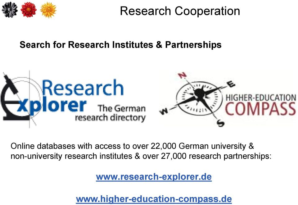 university & non-university research institutes & over 27,000