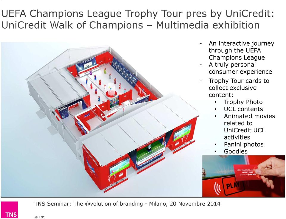 Trophy Tour cards to collect exclusive content: Trophy Photo UCL contents