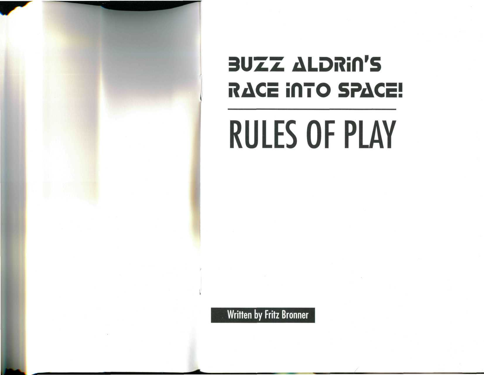 BUZZ ALDRiH'S RACE into SPACE!