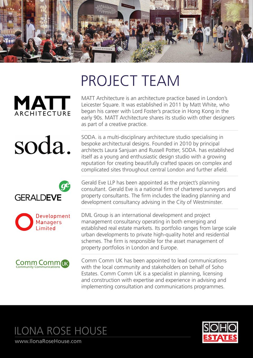 MATT Architecture shares its studio with other designers as part of a creative practice. SODA. is a multi-disciplinary architecture studio specialising in bespoke architectural designs.