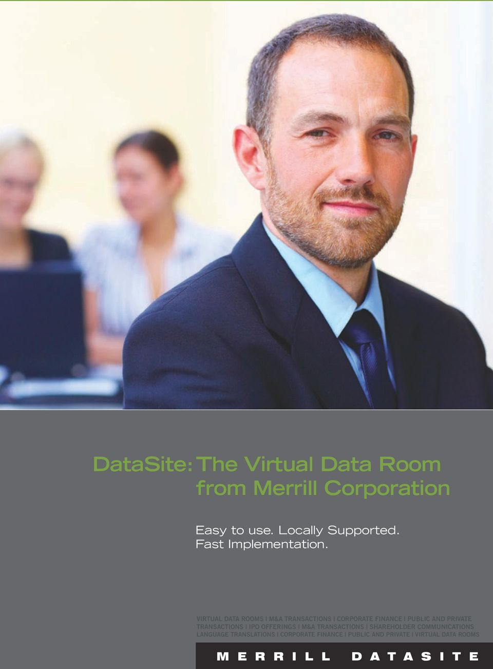 VIRTUAL DATA ROOMS M&A TRANSACTIONS CORPORATE FINANCE PUBLIC AND PRIVATE