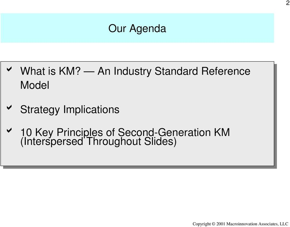 Strategy Implications b 10 10 Key