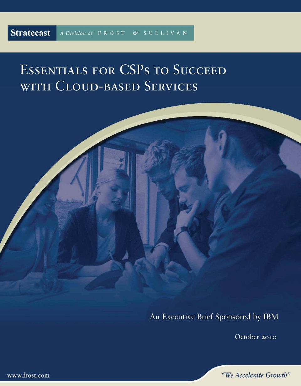 Cloud-based Services An