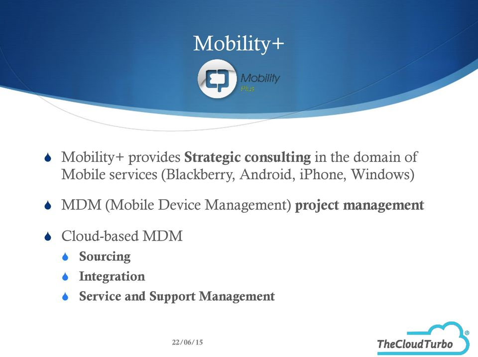 Windows) MDM (Mobile Device Management) project management
