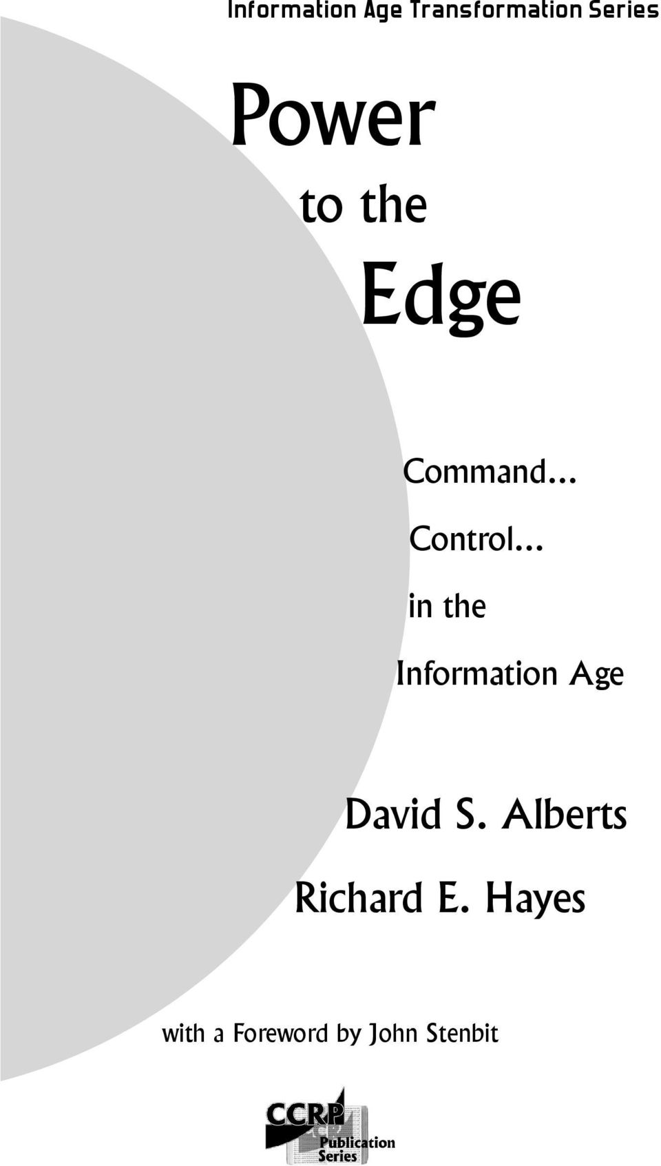 .. in the Information Age David S.