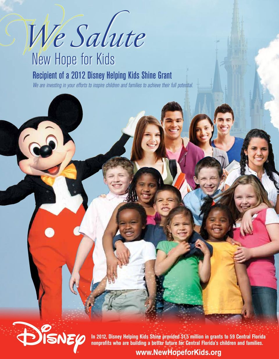 14 Baldwin Park Living In 2012, Disney Helping Kids Shine provided $1.