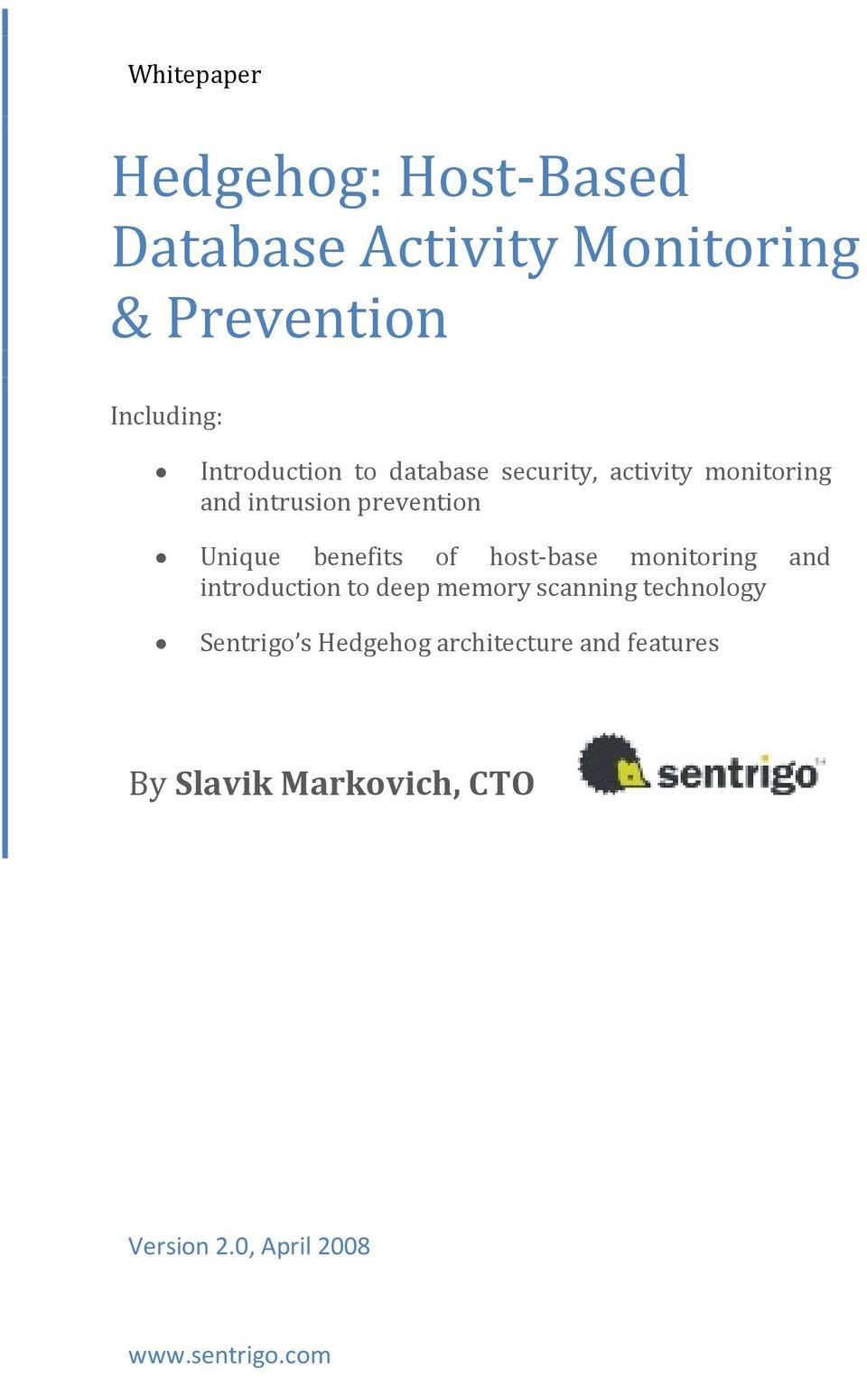 benefits of host-base monitoring and introduction to deep memory scanning technology
