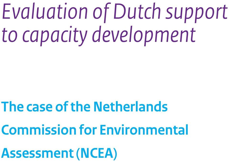 of the Netherlands Commission