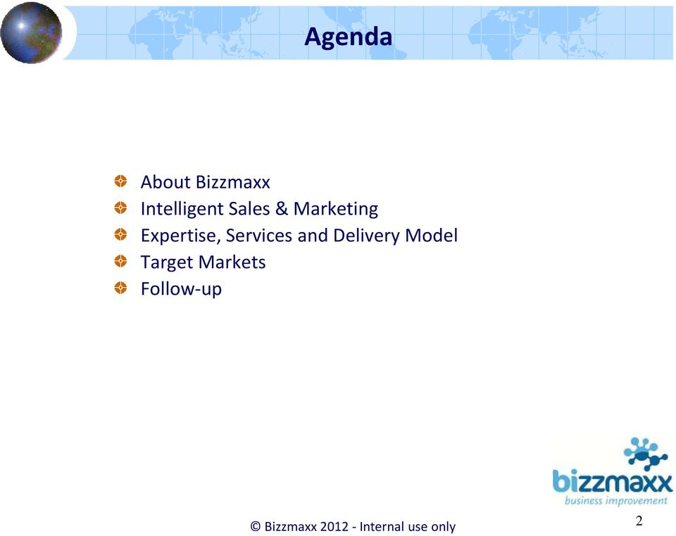 and Delivery Model Target Markets