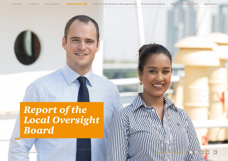 Information about PwC Report of the Local Oversight Board