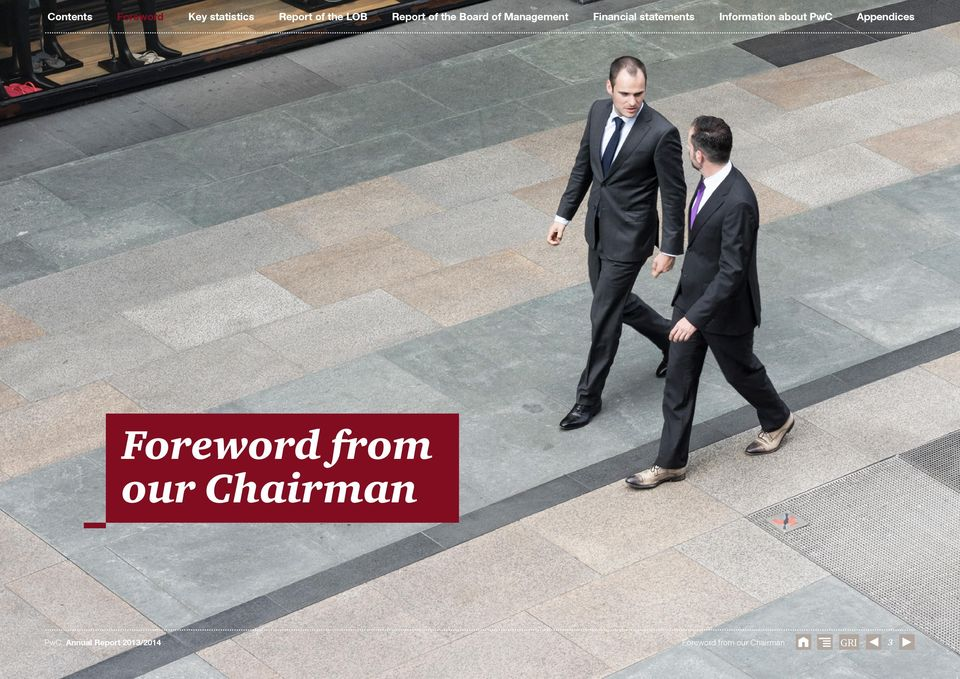 statements Information about PwC Foreword from our