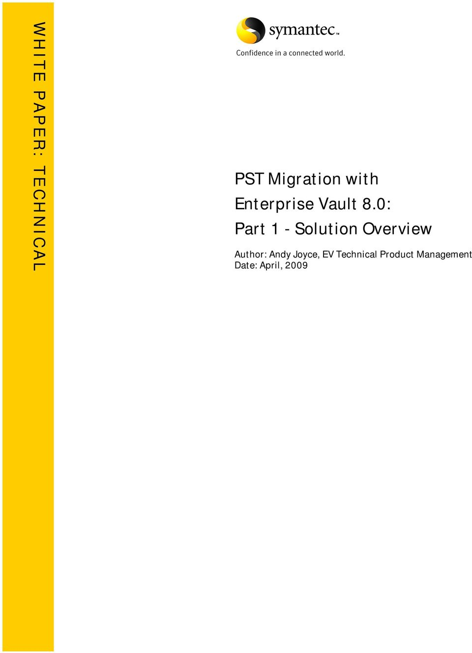 0: Part 1 - Solution Overview Author: